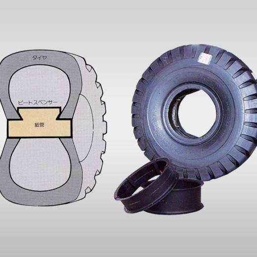 タイヤ用紙管